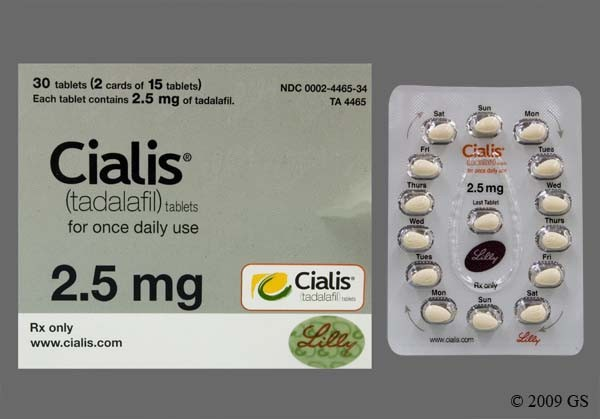 Photo of the drug Cialis (generic name(s): ).